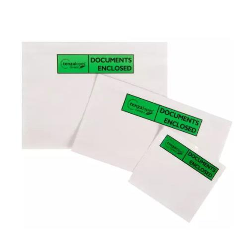 113 x 100mm Biodegradable Documents Enclosed Wallets